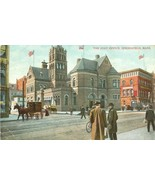 The Post Office, Springfield Mass 1908 used Postcard  - $4.99