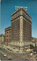 Sheraton Ten Eyck Hotel, Albany New York 1950s unused Postcard  - $3.99