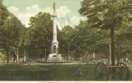 Soldiers Monument on the Common, Lawrence, Mass early 1900s Postcard - $3.99