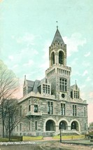 Springfield Mass, Court House 1907 used Postcard - $4.99