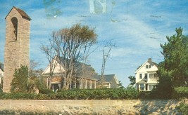 St. Joseph's Church and Bell Tower, Woods Hole, Mass 1959 used Postcard  - $4.25