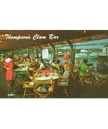 Thompson Brothers Clam Bar, Mass unused Postcard - $5.99