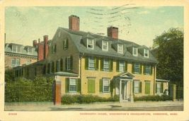 Wadsworth House, Washington's Headquarters, Cambridge, Mass 1919 used Postcard  - $4.99