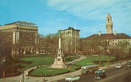 Worcester, Mass, View of the Common, and City Hall unused Postcard  - $5.77