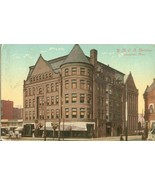 Y.M.C.A Building, Springfield, Mass 1912 used Postcard  - $4.99