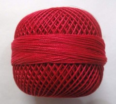 Ruby Pink - 20 grams Cotton Yarn Thread - Crochet Embroidery Knitting DI... - $4.70