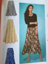 Butterick Sewing Pattern 4136 Ladies Misses Skirt Size 14-18 New - $17.13
