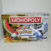 Monopoly Pokemon Johto Edition Board Game Hasbro Complete - $43.60
