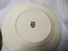 Vintage Franciscan China Desert Rose 4 piece plate set 3 size plates and 1 bowl image 9