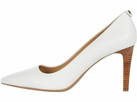 New Michael Kors White Leather Pointy Pumps Size 8.5 M $99 - $59.99