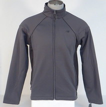 New Balance All Motion Gray Zip Front Athletic Running Jacket Men's NWT - $56.24