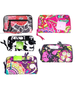 Vera Bradley Zip Around Wallet Wristlet New - $54.95