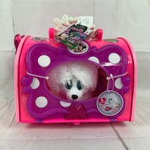 NWT Disney Junior Minnie's Happy Helpers 8 Pc Pet Carrier White Puppy Plush - $18.00