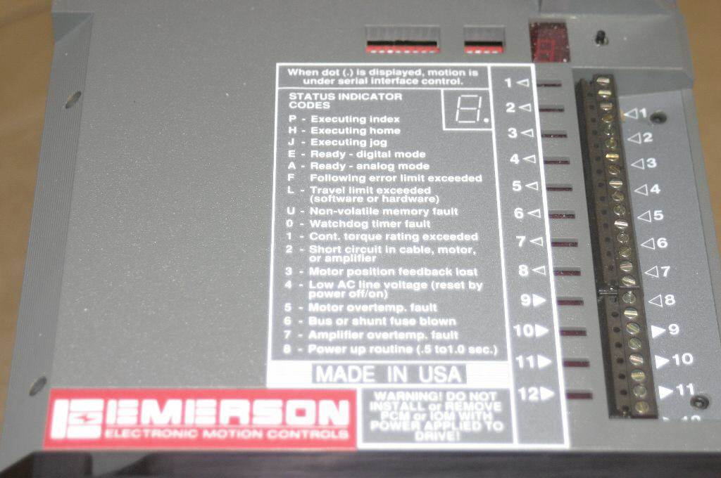 NEW Emerson DXA-480 Positioning Drive Servo 960021-02 DXE DXM Motor Amplifer