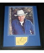 Bobby Bare Signed Framed 11x14 Photo Display  - $60.41