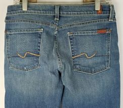 7 For All Mankind Damen 32 Blau Bootcut Jeans image 5