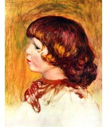 Coco by Renoir - 24x32 inch Canvas Wall Art Home Decor - $51.99