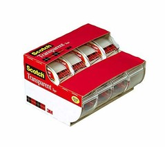 Scotch Transparent Tape, Standard Width, Great Value, Glossy Finish, Eng... - $9.09