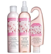 Naturals Cherry Blossom 3-Piece Set (Shower Gel, Body Lotion, Spray)  - $21.95
