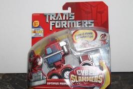 Hasbro Transformers Cyber Slammers Optimus Price Action Figure - NIP - $16.83