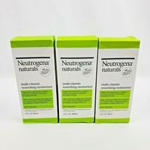 3X Neutrogena Naturals Multi-Vitamin Nourishing Daily Face Moisturizer 3oz - $29.95