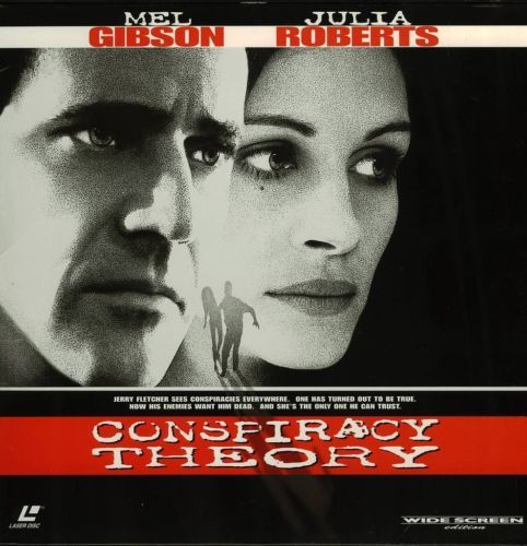 Primary image for CONSPIRACY THEORY LTBX JULIA ROBERTS LASERDISC RARE