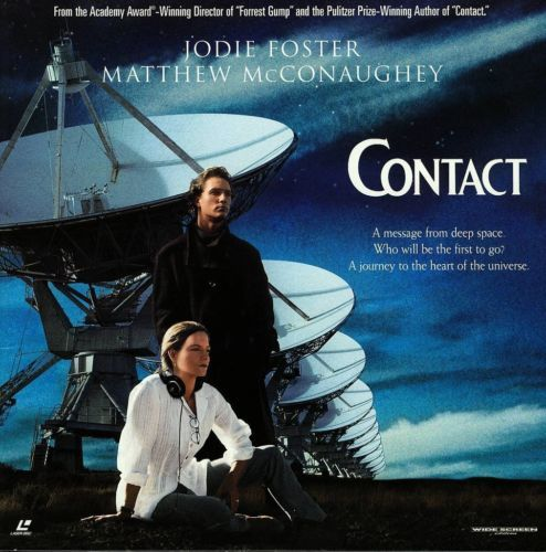 Primary image for CONTACT LTBX JODIE FOSTER LASERDISC- RARE