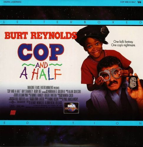 Primary image for COP AND A HALF LTBX RUBY DEE LASERDISC RARE