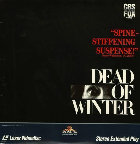 Primary image for DEAD OF WINTER MARY STEENBURGEN LASERDISC RARE