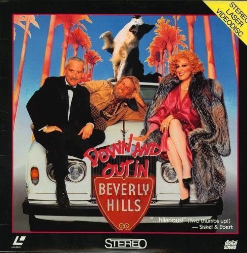 Primary image for DOWN AND OUT IN BEVERLY HILLS BETTE MIDLER LASERDISC