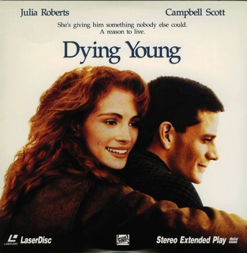 Primary image for DYING YOUNG JULIA ROBERTS  LASERDISC RARE