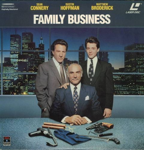 Primary image for FAMILY BUSINESS  SEAN CONNERY  LASERDISC RARE