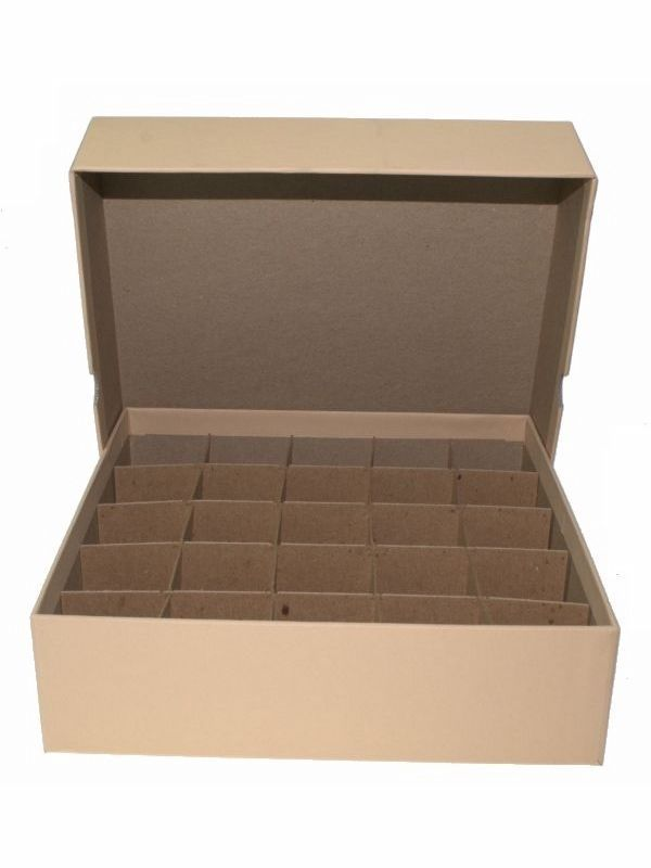 Guardhouse Coin Tube Storage Box, Heavy Duty - Large Dollar/Tan