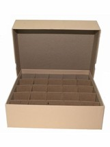 Guardhouse Coin Tube Storage Box, Heavy Duty - Large Dollar/Tan - $17.44