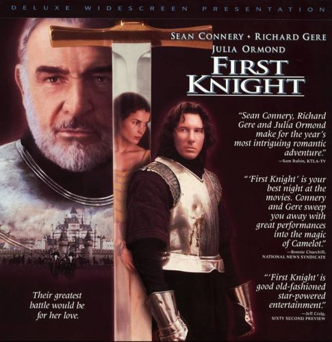 Primary image for FIRST KNIGHT LTBX  JULIA ORMOND LASERDISC RARE