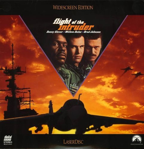 Primary image for FLIGHT OF THE INTRUDER  LTBX  DANNY GLOVER  LASERDISC RARE