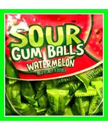 Sour Watermelon Wrapped Gumballs 12 LBs  - $199.99