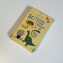 50 Things to Draw and Paint by Fiona Watt (2006, Cards,Flash Cards) - $10.39