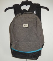 VAN'S Off The Wall Gray Tweed Backpack - $20.99