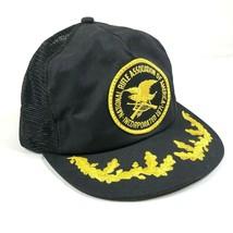 NRA National Rifle Association Snapback Trucker Hat Cap Mesh Back Foam Logo - $9.50