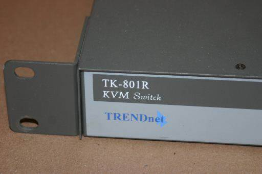 TRENDNET TK-801R 8-Port Rack Mount KVM Switch TK-801R Rackmount