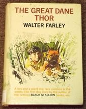 The Great Dane Thor by Walter Farley 1973 - $3.00