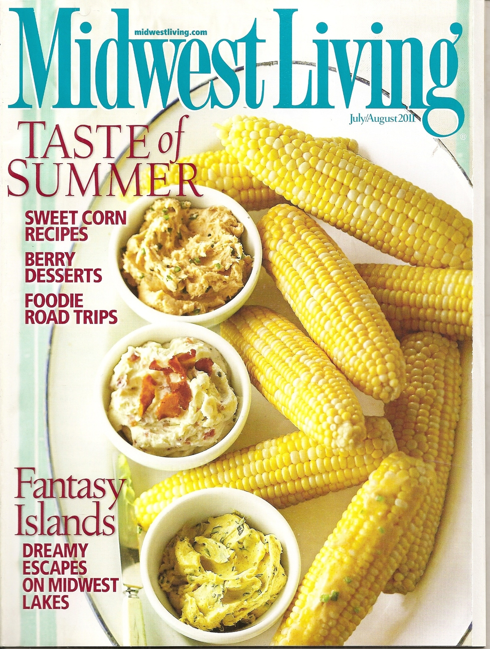 Primary image for MIDWEST LIVING  JULY-AUGUST 2011