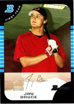 JAY BRUCE  REDS  RC  1st year  2005 BOWMAN DRAFT #BDP32 - $1.99
