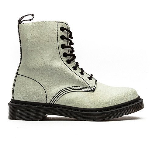 Dr. Martens Women's Pascal White/Black Boot 5 Women US / 3 Women UK