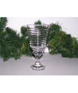 SIRRUS-CLEAR WATER GOBLET by LIBBEY/ROCK SHARPE  - $8.00