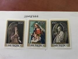 San Marino Christmas mnh 1982  stamps - $1.65
