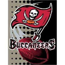 "NFL TAMPA BAY BUCCANEERS TEAM 60"" x 80"" SOFT PLUSH RASCHEL THROW GAME BLANKET - $54.95"