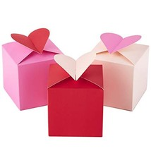 Hallmark Paper Wonder Small Valentines Gift Boxes Hearts, Pack of 3 - 5JVG1928 image 1