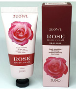 JUNO  ZUOWL ROSE HAND CREAM 100ml made in KOREA - $6.81
